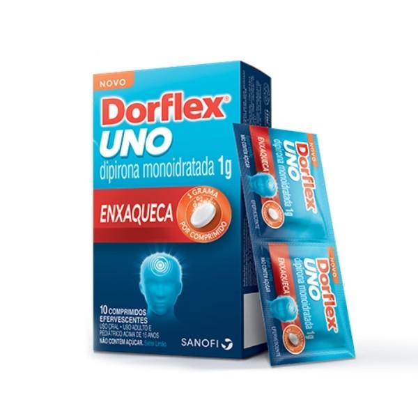 Dorflex Uno com 10 Comprimidos Efervescentes